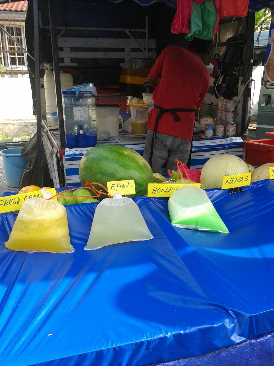 Hairi Juice Di Tapak 25 & 26 Di Bazar Ramadhan 2015 Selayang Mall