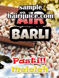 sticker balang air barli