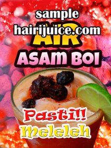 sticker balang air asam boi