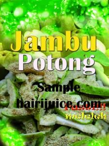 Sticker balang jambu potong