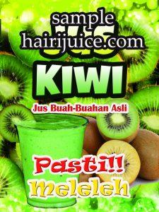 sticker balang jus kiwi