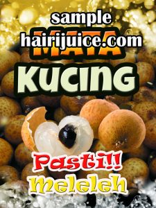 sticker balang air mata kucing