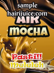 sticker balang air mocha