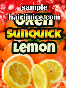 sticker balang orange sunquick lemon