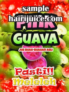 sticker pink guava