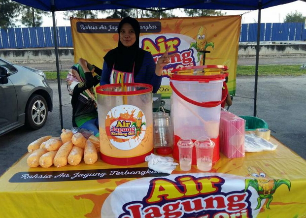 air jagung klebang